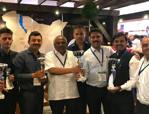 Black Tulip Flowers bags more laurels for excellence at IFTEX 2018