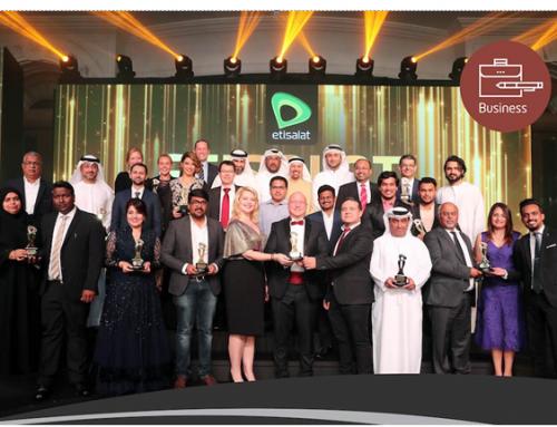 SMB ( Small and Medium Business ) Awards by ETISALAT 2018